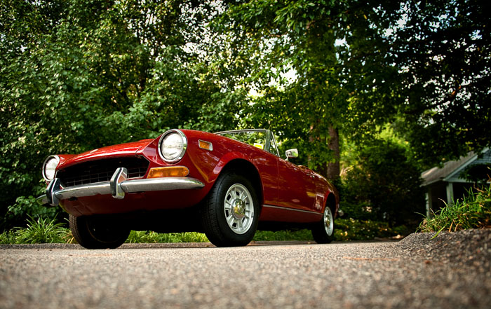 1974 Fiat Spider | Andrew Craft