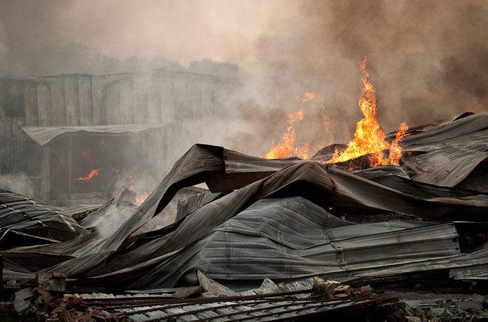 Peanut Storage Fire | Andrew Craft