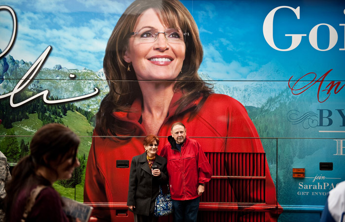 Sarah Palin's Bus | Andrew Craft
